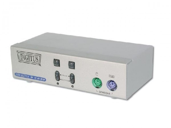 KVM-Switch Digitus 2 Port (PS/2|VGA)
