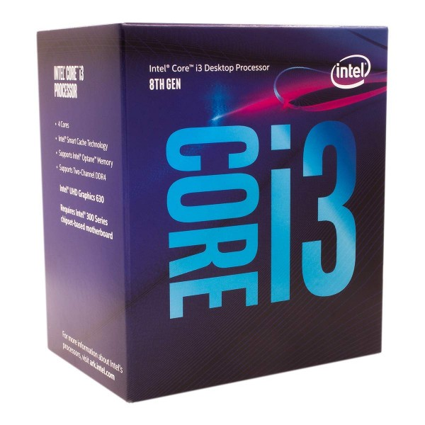 LGA1151v2 Intel Core i3-8100 Box