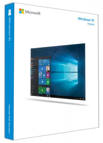 Microsoft Windows 10 Home 32/64-Bit, 1 PC (COA by MAR)