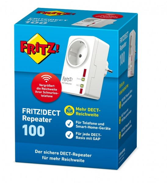 AVM FRITZ!DECT Repeater 100 - DECT-Repeater!