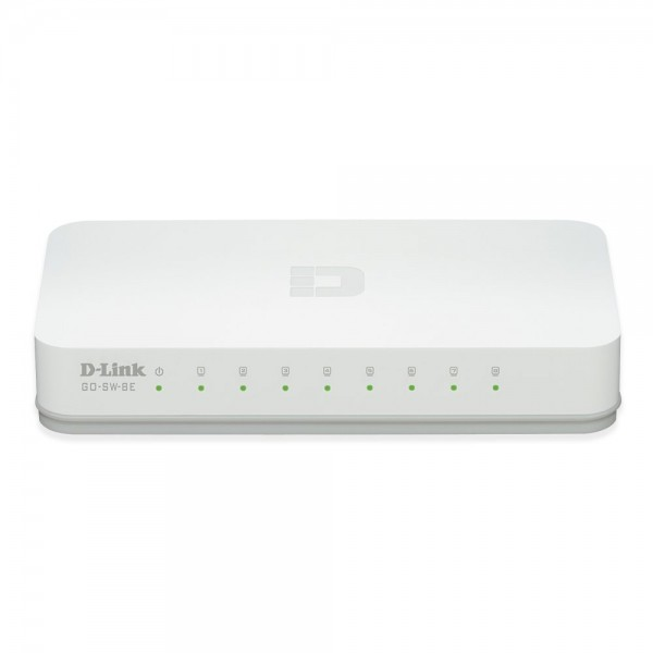 Switch 8-Port D-Link dlinkgo Fast Ethernet